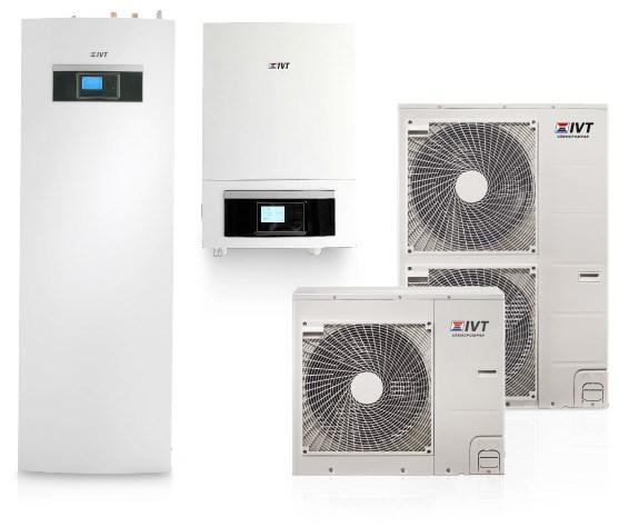 IVT Air Split luft/vattenvärmepumpar