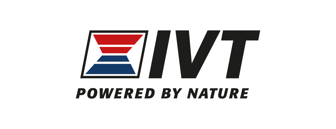 IVT Powered by nature logotype